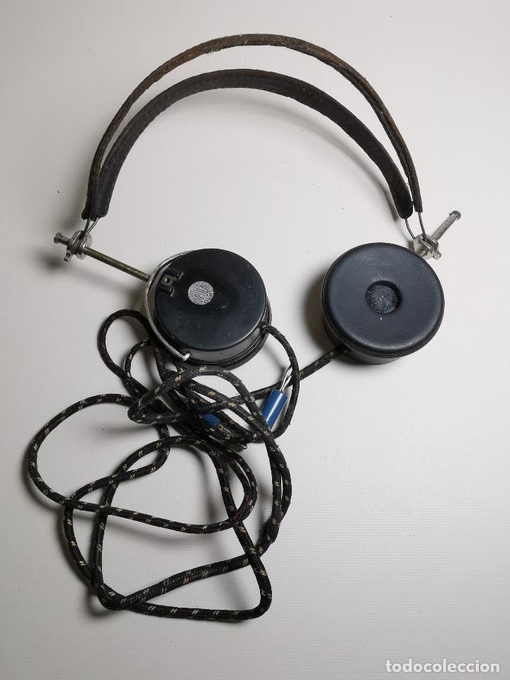 Radios de galena: AURICULARES para RADIO DE GALENA. MARCA ORIGINAL 1000 OHM- - Foto 23 - 191004902