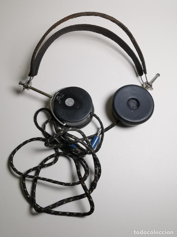 AURICULARES PARA RADIO DE GALENA. MARCA ORIGINAL 1000 OHM- (Radios, Gramófonos, Grabadoras y Otros - Radios de Galena)