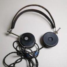 Radios de galena: AURICULARES PARA RADIO DE GALENA. MARCA ORIGINAL 1000 OHM- . Lote 191004902