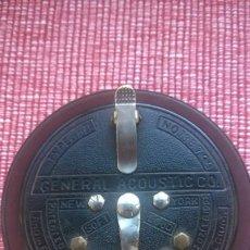 Radios de galena: RARISIMA PIEZA(NUNCA VENDIDA)ACOUSTICON**GENERAL ACOUSTIC**PIEZA BAKELITA(PERFECTA) PATENTE AÑO 1902. Lote 192860437