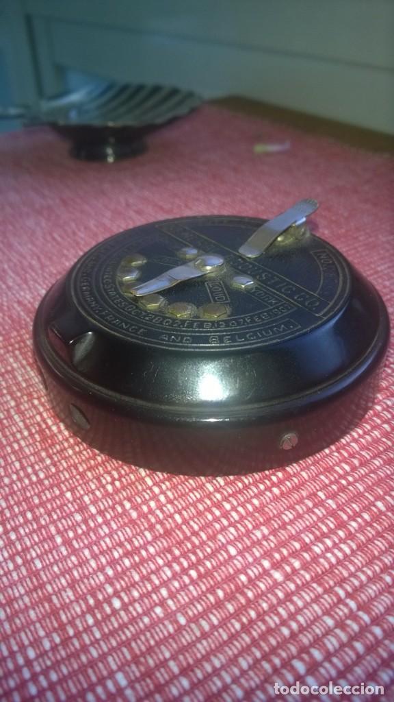 Radios de galena: RARISIMA pieza(nunca vendida)ACOUSTICON**General Acoustic**Pieza BAKELITA(Perfecta) Patente Año 1902 - Foto 5 - 192860437