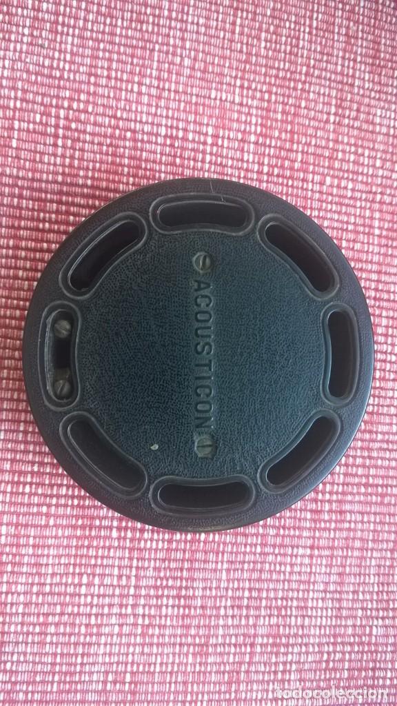 Radios de galena: RARISIMA pieza(nunca vendida)ACOUSTICON**General Acoustic**Pieza BAKELITA(Perfecta) Patente Año 1902 - Foto 7 - 192860437
