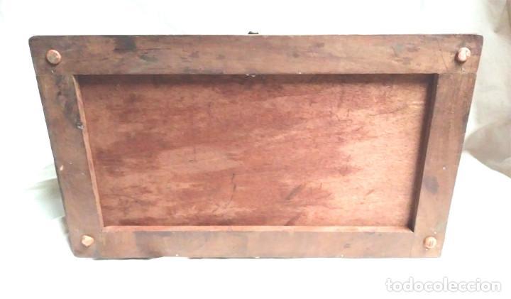 Radios de galena: Chasis Radio Galena madera de Caoba, frontal Baquelita, laterales Cristal Biselado, para formación. - Foto 8 - 197816808