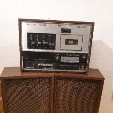 Radios de galena: RADIO CASETE SANYO STD-110 HOME STEREO CASSETTE RADIO RECORDER . Lote 198255188