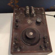 Radios de galena: ANTIGUO DETECTOR. Lote 211772241