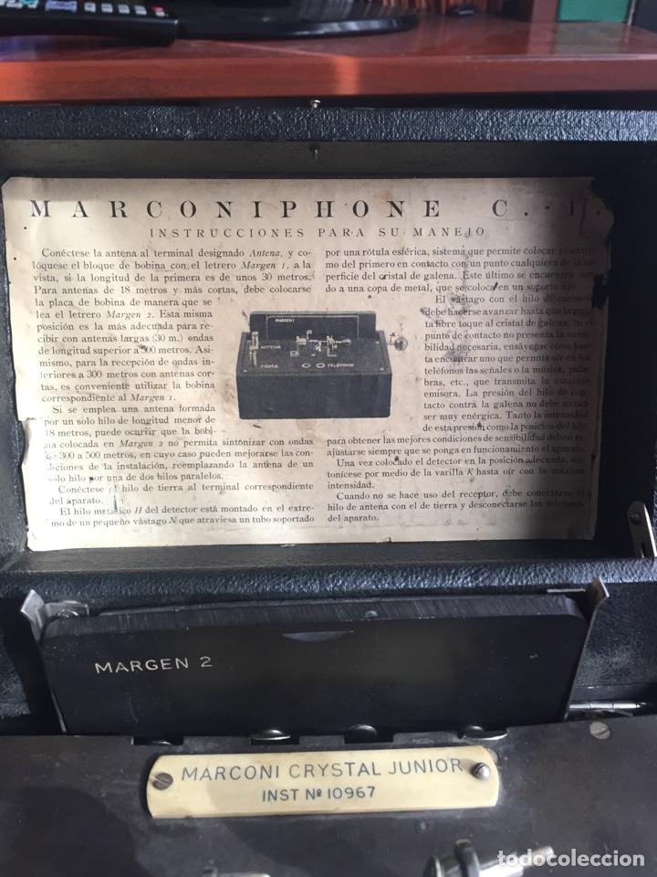 Radios de galena: Radio Galena marconiphone - Foto 2 - 215932052