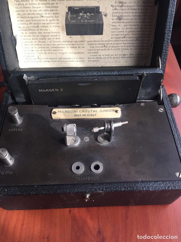 Radios de galena: Radio Galena marconiphone - Foto 3 - 215932052