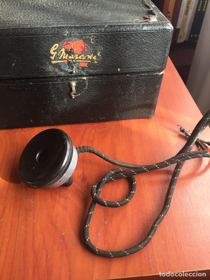 Radios de galena: Radio Galena marconiphone - Foto 10 - 215932052