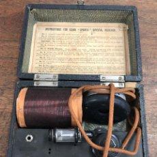 Radios de galena: RADIO DE GALENA SPARTA FULLER CRYSTAL RECEIVER EN CAJA ORIGINAL. C. 1920. RAREZA. ENGLAND. Lote 217698195