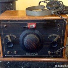 Radios de galena: RADIO GALENA SELECTOPLEX (COD. U_159) AÑO 1927 FUNCIONA. Lote 219111915