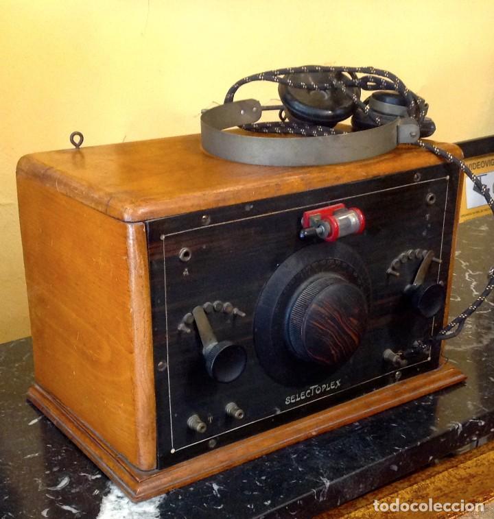 Radios de galena: Radio Galena Selectoplex (cod. U_159) Año 1927 Funciona - Foto 2 - 219111915