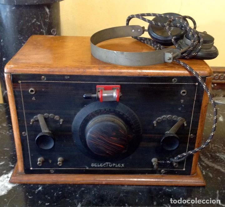 Radios de galena: Radio Galena Selectoplex (cod. U_159) Año 1927 Funciona - Foto 3 - 219111915