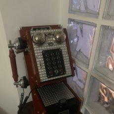 Radios de galena: TELÉFONO ANTIGUO REPLICA. Lote 221225648