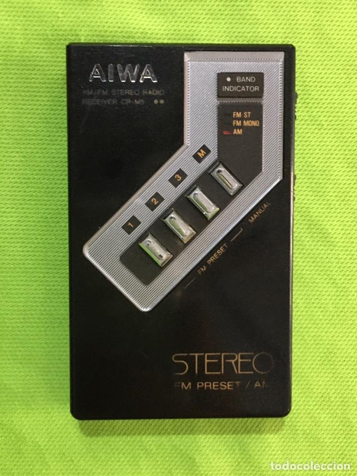 Radios de galena: radio aiwa CR-M5 - Foto 6 - 221751142