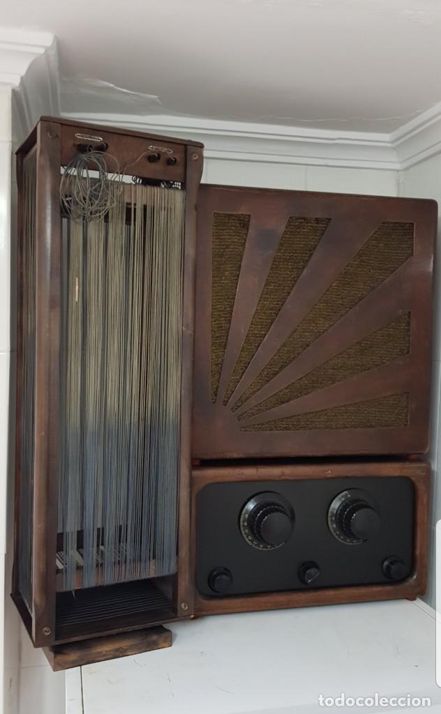 RADIO GALENA ANTIGUA CIRCA 1930 CON ALTAVOZ Y ANTENA RARÍSIMA!!! ALTA COLECCIÓN (Radios, Gramófonos, Grabadoras y Otros - Radios de Galena)