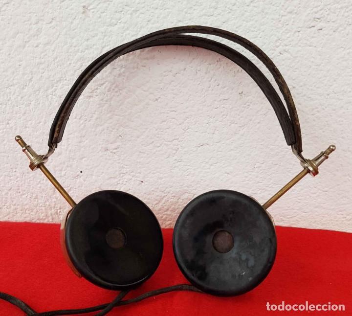 Radios de galena: CASCOS AURICULARES N&K PARA RADIO DE GALENA, C1920/30 - Foto 2 - 222467836