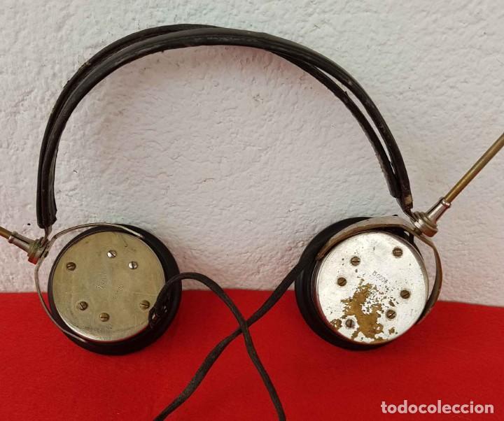 Radios de galena: CASCOS AURICULARES N&K PARA RADIO DE GALENA, C1920/30 - Foto 3 - 222467836