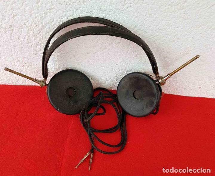 Radios de galena: CASCOS AURICULARES N&K PARA RADIO DE GALENA, C1920/30 - Foto 4 - 222467836