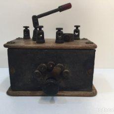 Radios à galène: PEQUEÑA Y MUY ANTIGUA RADIO DE GALENA. Lote 222625447