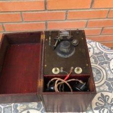 Radios de galena: RADIO ANTIGUA DE GALENA CRYSTAL RADIO WIRELESS GALENE. USMO. Lote 224419265
