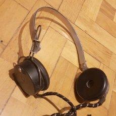 Radios à galène: AURICULARES ANTIGUOS PARA RADIO DE GALENA O VALVULAS. Lote 224874582