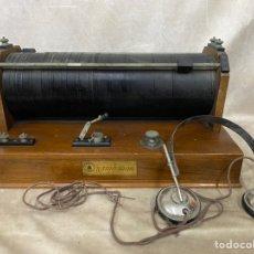 Radios de galena: RADIO GALENA RADIOJOUR. CON AURICULARES. Lote 224899778
