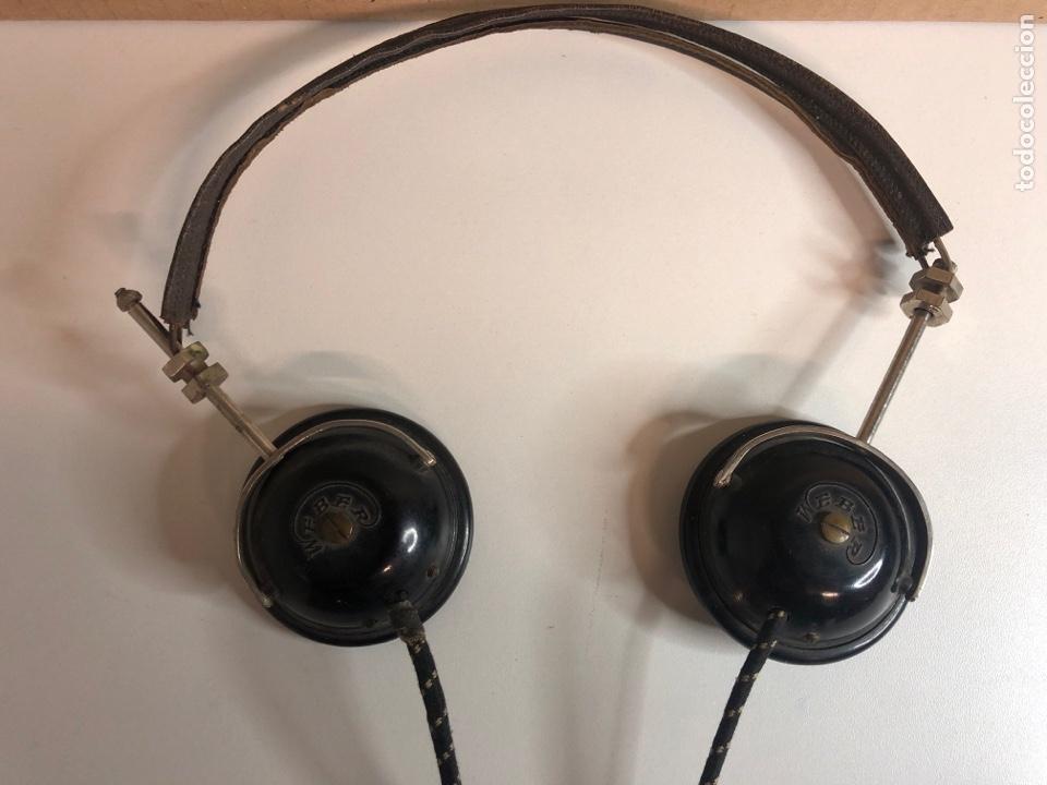 Radios de galena: Antiguos auriculares de radio de Galena weber años 20 - Foto 2 - 225363495