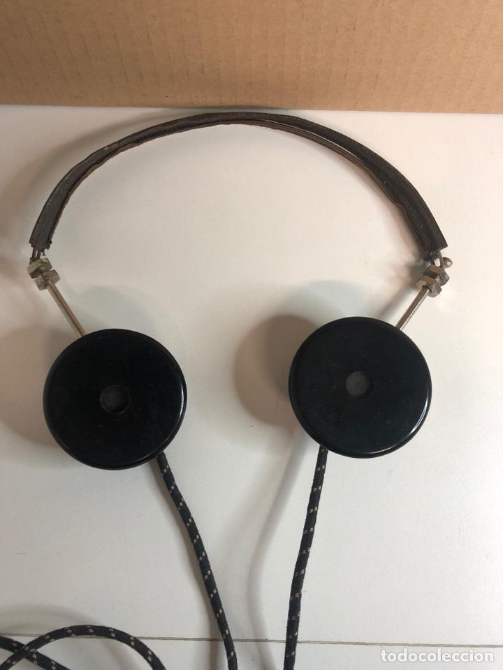 Radios de galena: Antiguos auriculares de radio de Galena weber años 20 - Foto 5 - 225363495