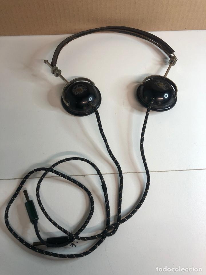 ANTIGUOS AURICULARES DE RADIO DE GALENA WEBER AÑOS 20 (Radios, Gramófonos, Grabadoras y Otros - Radios de Galena)