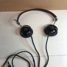 Radios de galena: ANTIGUOS AURICULARES DE RADIO DE GALENA WEBER AÑOS 20. Lote 225363495