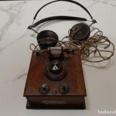 Radio a galena: RÀDIO DE GALENA. Lote 228625630
