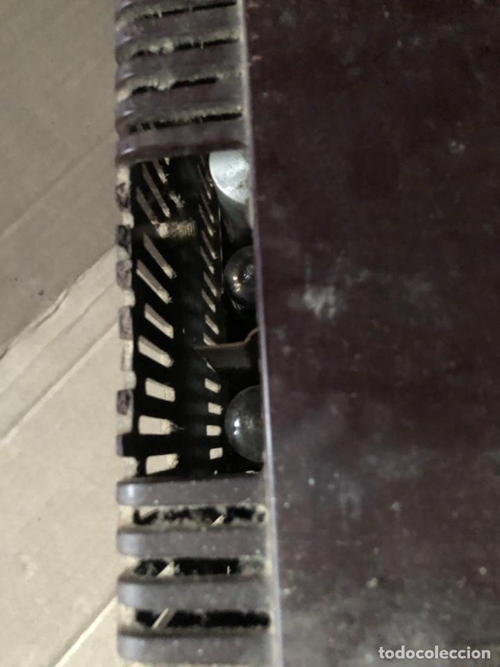 Radios de galena: Antiguo radio pequeño y a la vez pesado de valvulas - Foto 5 - 233554055