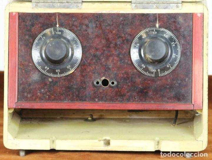 Radios de galena: RADIO DE GALENA. CAJA EN MADERA POLICROMADA. POPEYE EL MARINO. CIRCA 1940. - Foto 6 - 239537210