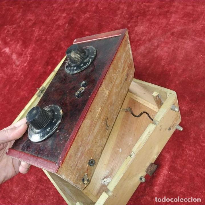 Radios de galena: RADIO DE GALENA. CAJA EN MADERA POLICROMADA. POPEYE EL MARINO. CIRCA 1940. - Foto 12 - 239537210
