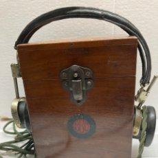 Radios de galena: RADIO DE GALENA BTH - CON AURICULARES.. Lote 242818115