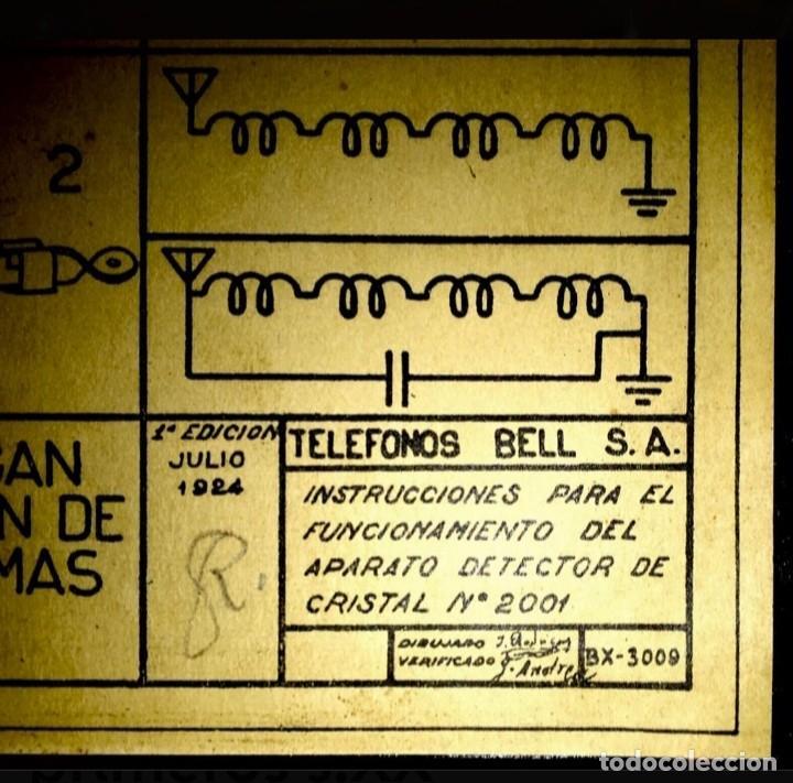 RADIO GALENA 1924 / 1928 BELL (Radios, Gramófonos, Grabadoras y Otros - Radios de Galena)