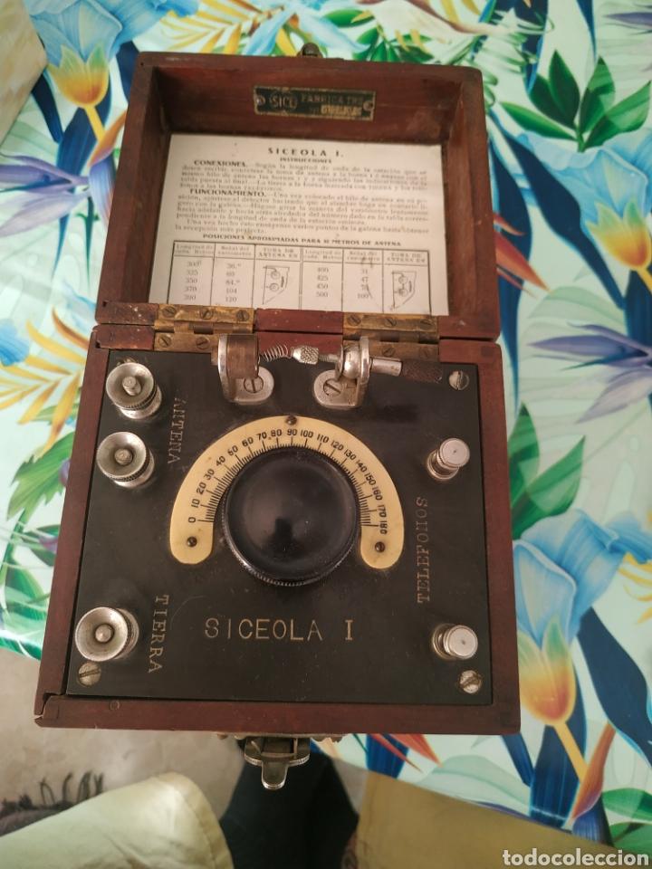 RADIO GALENA SICEOLA I N SERIE 1749 (Radios, Gramófonos, Grabadoras y Otros - Radios de Galena)