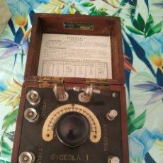 Radios de galena: RADIO GALENA SICEOLA I N SERIE 1749. Lote 254051180