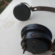 Radios de galena: AURICULARES BAQUELITA VINTAGE DE LOS AÑOS 50. Lote 254621780