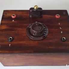 Radios de galena: BONITA Y ORIGINAL RADIO DE GALENA,MUY DECORATIVA.. Lote 254992735