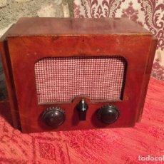 Radios de galena: ANTIGUA PEQUEÑA RADIO DE GALENA CON CAJA DE MADERA INTERRUPTORES DE BAQUELITA AÑOS 20-30. Lote 260359590
