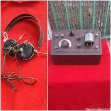Radios de galena: ANTIGUA RADIO DE GALENA INGLESA 1920 CON AURICULARES. Lote 257878040