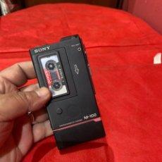 Radios de galena: GRABADORA DE MICROCASSETTE SONY M-100 . VER FOTOS. Lote 263945020