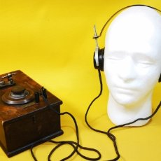 Radios de galena: ANTIGUO DETECTOR SEÑALES ALEMANIA NAZI 1935/45. Lote 269621103