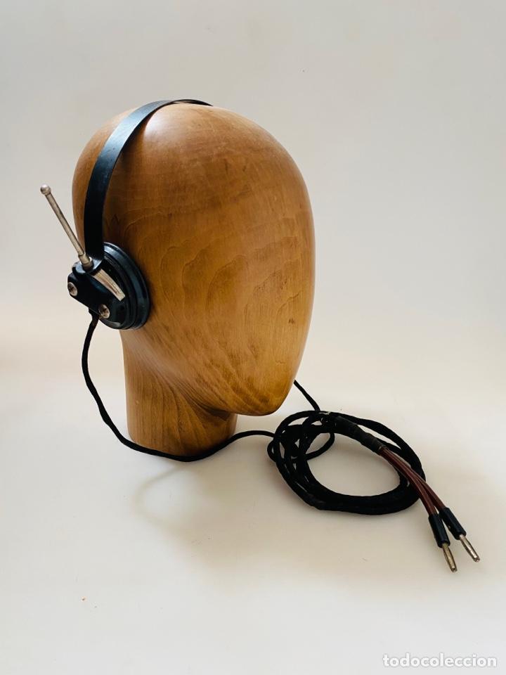 AURICULARES ALTA IMPEDANCIA RADIO GALENA (Radios, Gramófonos, Grabadoras y Otros - Radios de Galena)