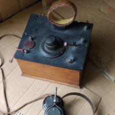 Radios de galena: FABULOSA RADIO DE GALENA. Lote 276780163