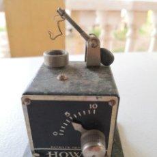 Radios de galena: RECEPTOR DE RADIO 1920 - RADIO RECEIVER HOWE PATENT PENDING - ENVÍO CERT 4.99. Lote 286707983