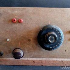 Rádios de galena: RADIO DE GALENA CON CONDENSADOR ORTHO CYCLIC EUREKA. Lote 291605813