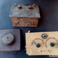 Rádios de galena: LOTE VARIOS ELEMENTOS PARA RADIO DE GALENA. Lote 291919738