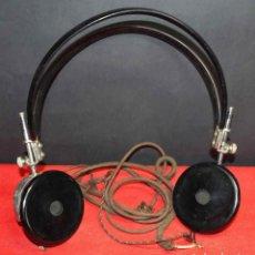 Radios de galena: CASCOS O AURICULARES PARA RADIO DE GALENA, C1920. Lote 293892888